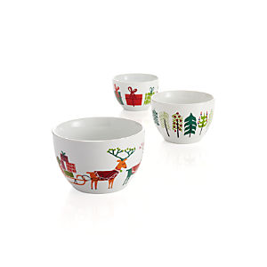 3-Piece Jingle Bowl Set
