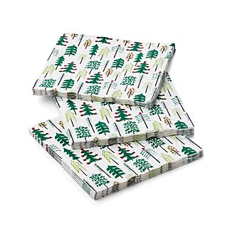 Set of 20 Jingle Paper Dinner Napkins