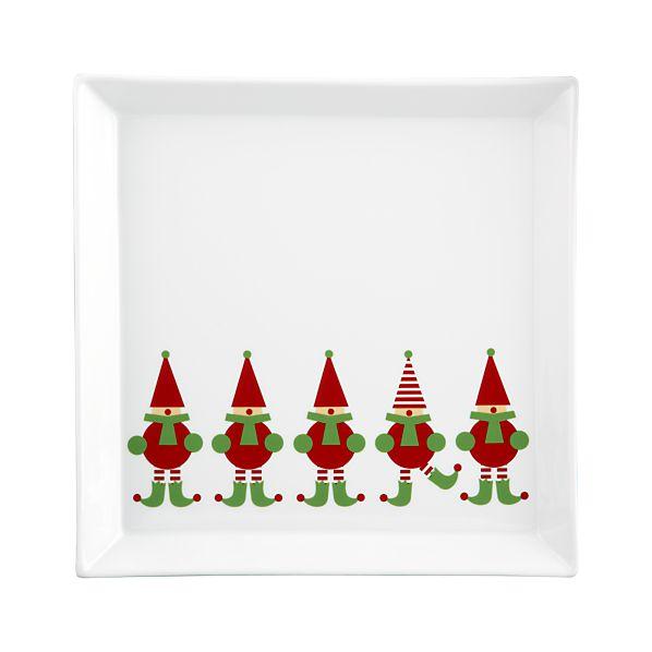 Jingle Elf Platter