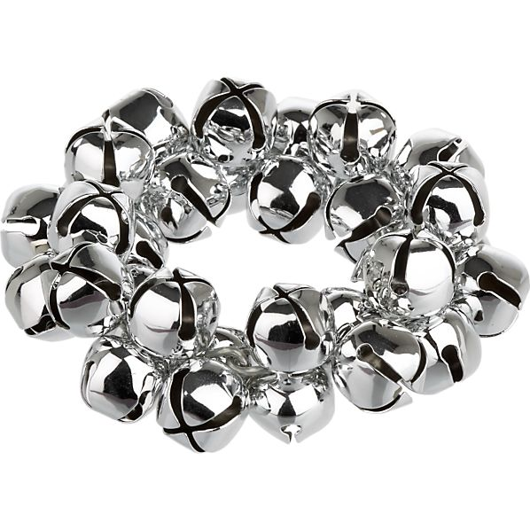 Jingle Silver Napkin Ring