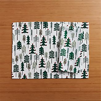 Jingle Placemat and Jingle Napkin