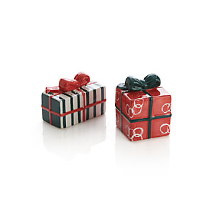 Jingle Salt and Pepper Shakers Set of Two