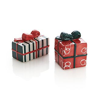 Set of 2 Jingle Salt and Pepper Shakers