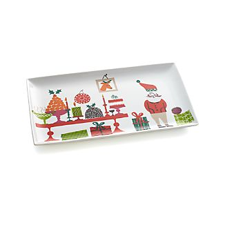 Jingle Rectangular Platter
