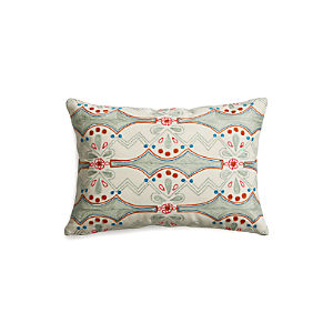 "Joon 18""x12"" Pillow with Down-Alternative Insert"