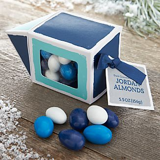 Dark Chocolate Hanukkah Jordan Almonds in Dreidel Box