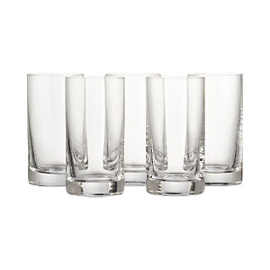 Juice Glasses Set of Six