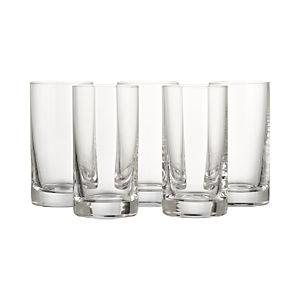 Juice Glasses Set of Six