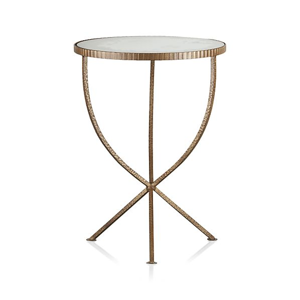 Jules Small Accent Table Crate And Barrel