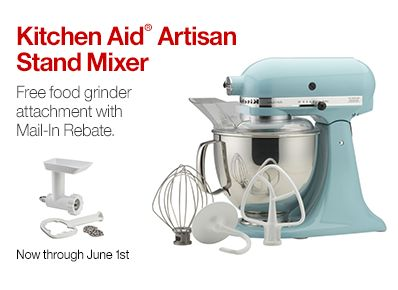 KitchenAid Rebate