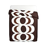 Marimekko Kaivo Chocolate Full/Queen Duvet Cover