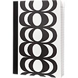 Marimekko Kaivo Black and White Notepad