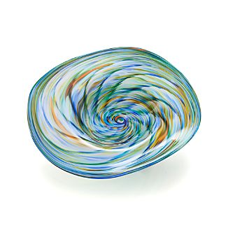 Kaleidoscope Centerpiece Bowl