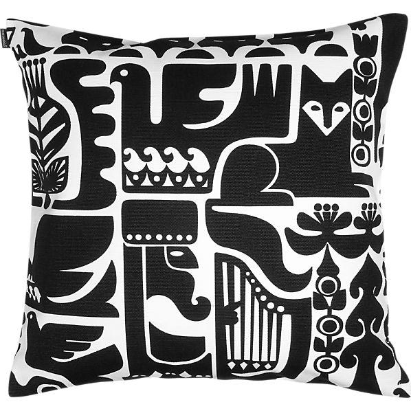 """Marimekko Kanteleen Kutsu 20"""" Pillow"""