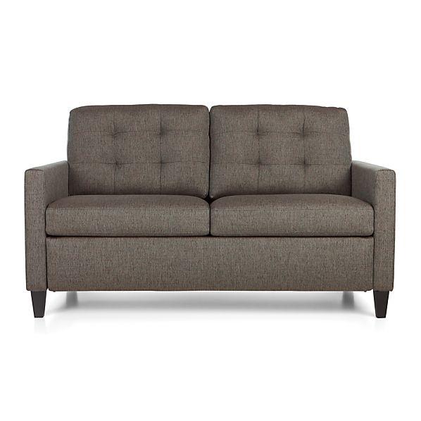 Karnes Full Sleeper Sofa Storm Crate And Barrel