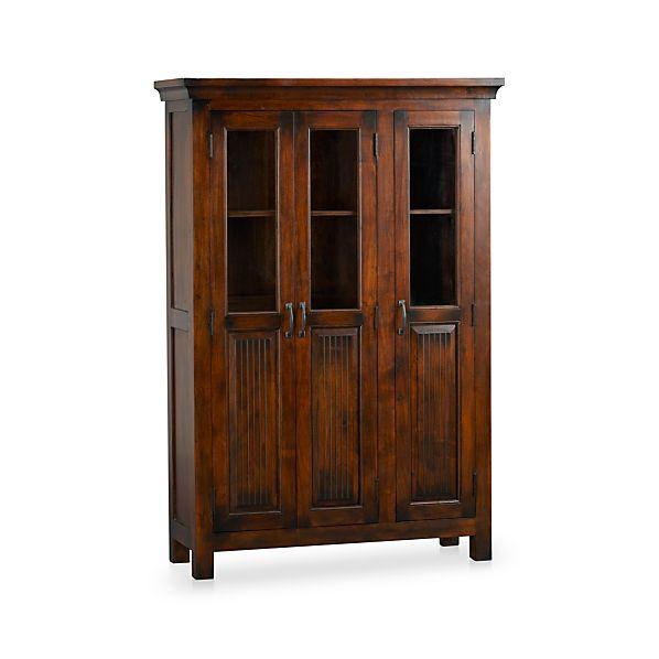 Http Www Crateandbarrel Com Kavari 3 Door Cabinet S367338