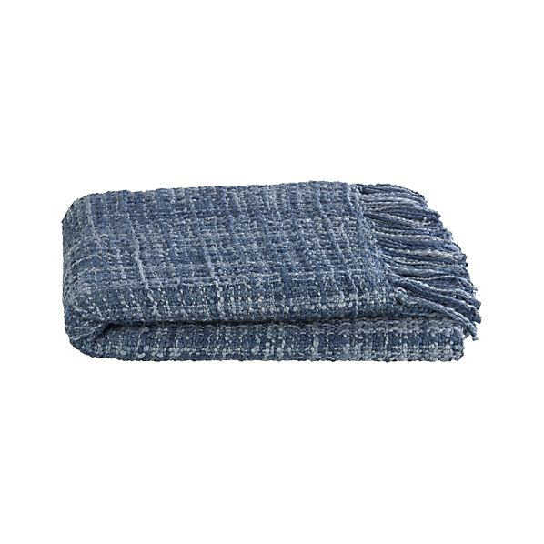 Kearny Blue Throw