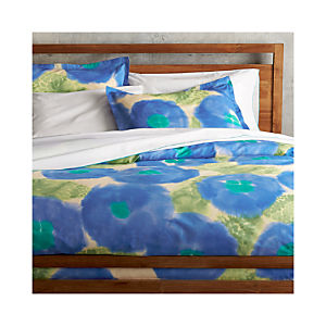 Marimekko Kehakukka Blue Duvet Covers and Pillow Shams