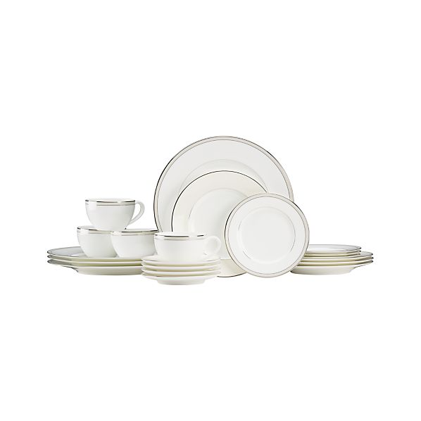 Kensington Pearl 20-Piece Dinnerware Set