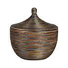 Kez Small Lidded Basket.
