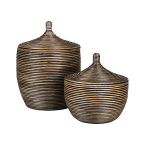 Kez Lidded Baskets
