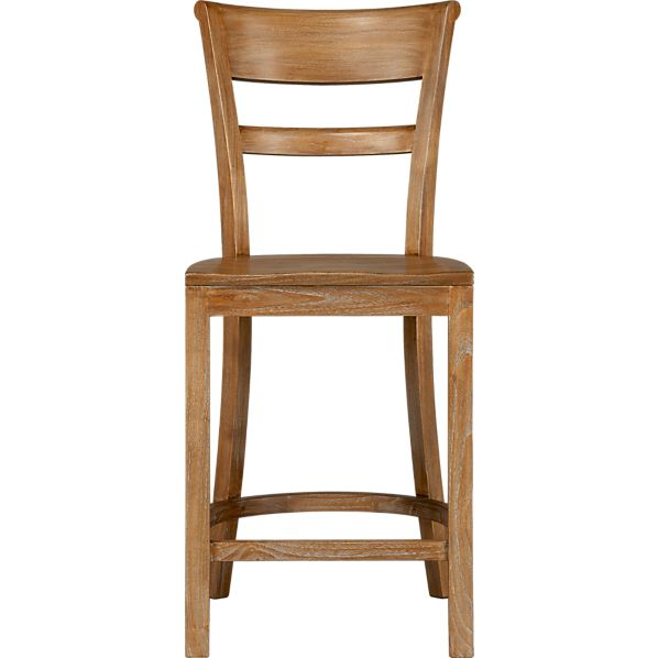 "Kipling Grey Wash 24"" Barstool"