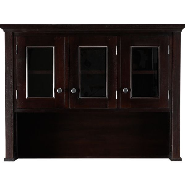 Kipling Mahogany Hutch Top