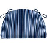Kipling-Vintner Indigo Stripe Cushion