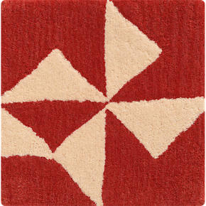 Kipp Persimmon 12 sq. Rug Swatch