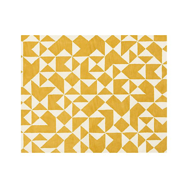 Kipp Yellow 8x10 Rug