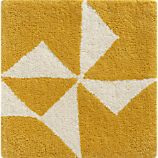 Kipp Yellow 12&quot; sq. Rug Swatch