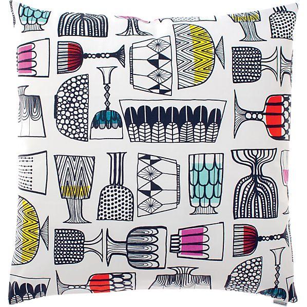 """Marimekko Kippis 20"""" Pillow"""