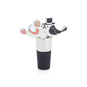Kissing Birds Bottle Stopper