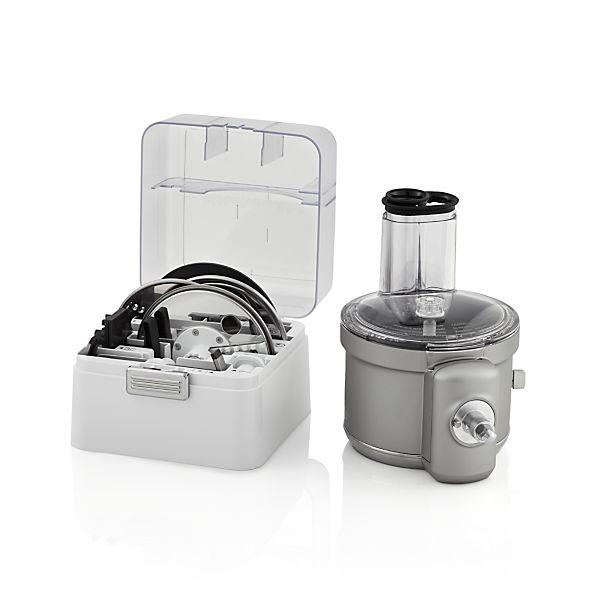 Kitchenaid 174 Food Processor Attachment Crate And Barrel