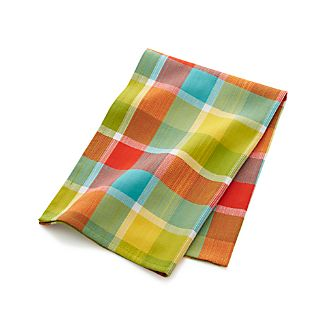 Kitchen Plaid Dish Towel