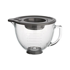 KitchenAid Stand Mixer Glass Mixer Bowl