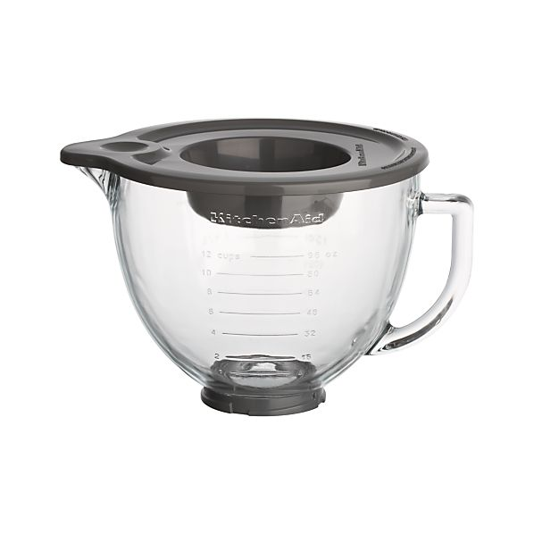 KitchenAid® Stand Mixer Glass Mixer Bowl