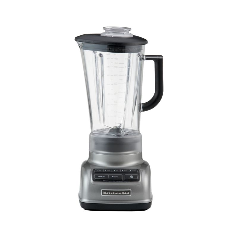 KitchenAid ® 5-Speed Contour Silver Diamond Vortex Blender