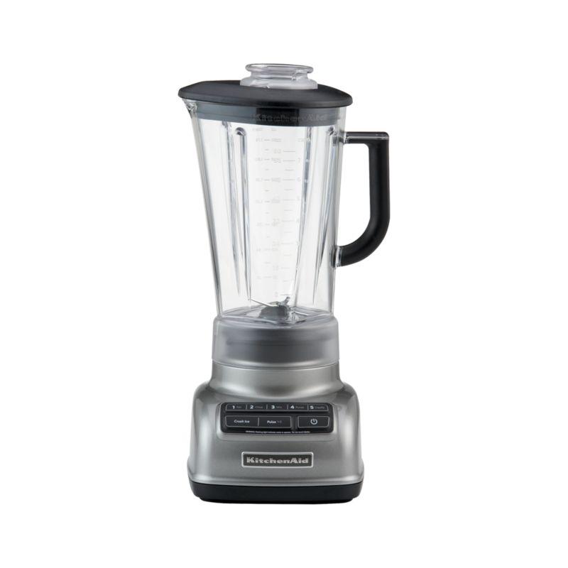 KitchenAid ® 5-Speed Contour Silver Diamond Vortex Blender
