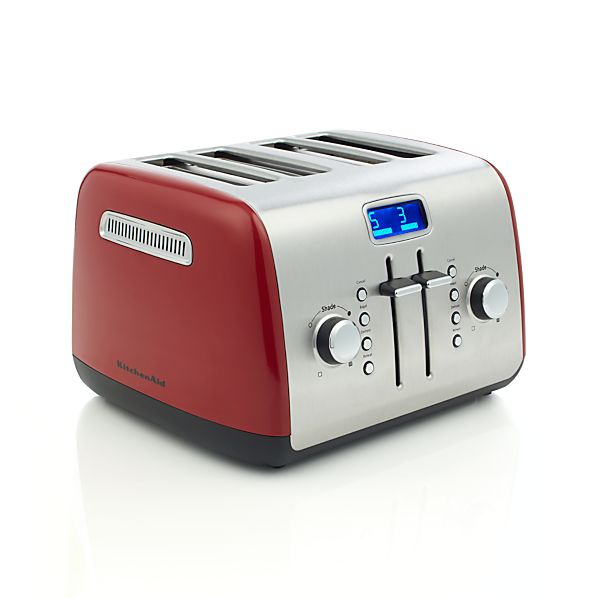 KitchenAid ® Red 4-Slice Toaster