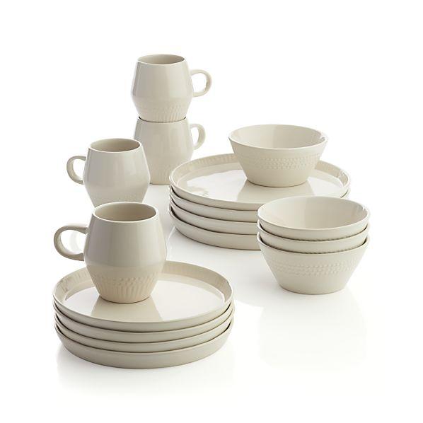 Kitt 16-Piece Dinnerware Set