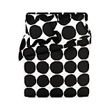 Marimekko Kivet Black Bed Linens