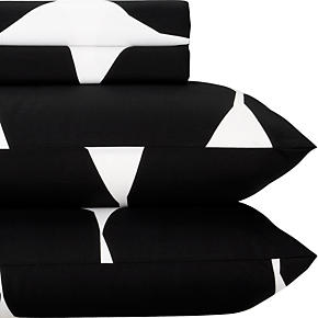Marimekko Kivet Black Sheet Sets