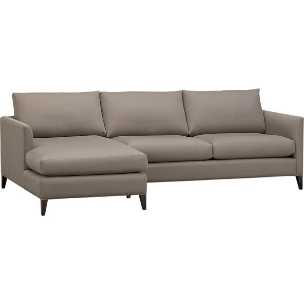 Klyne 2-Piece Sectional (Left Arm Chaise, Right Arm Apartment Sofa)