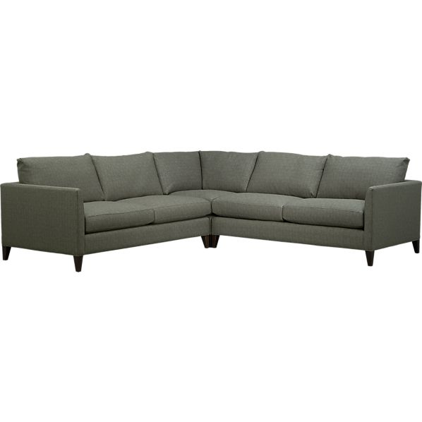 Klyne II 3 Piece Sectional Corner Sofa In Chairs Crate