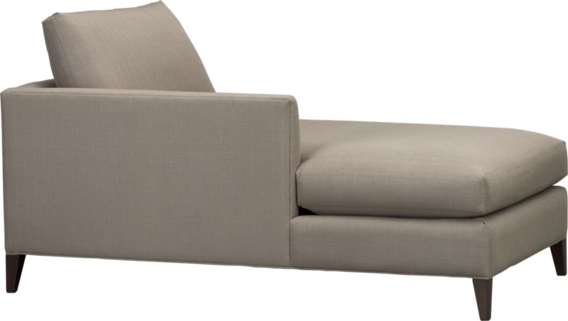 Klyne is compact seating whose warm grey lines refresh the room with a casual attitude. Narrow tapered arms cut a sleek profile and make for an even roomier experience. The perfect size for apartment and small space living.<br /><br />After you place your order, we will send a fabric swatch via next day air for your final approval. We will contact you to verify both your receipt and approval of the fabric swatch before finalizing your order.<br /><br /><NEWTAG/><ul><li>Eco-friendly construction</li><li>Certified sustainable kiln-dried hardwood frame</li><li>Seat cushions are soy- or plant-based polyfoam encased in synthetic ticking</li><li>Back cushions are fiber in synthetic ticking</li><li>Flexolator spring suspension</li><li>Hardw