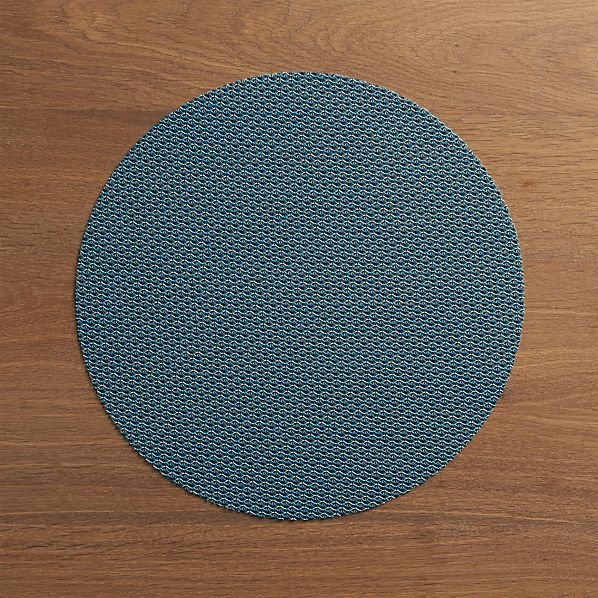 Chilewich® Knitty Blue Placemat
