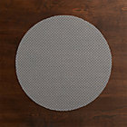 Chilewich® Knitty Grey Placemat.