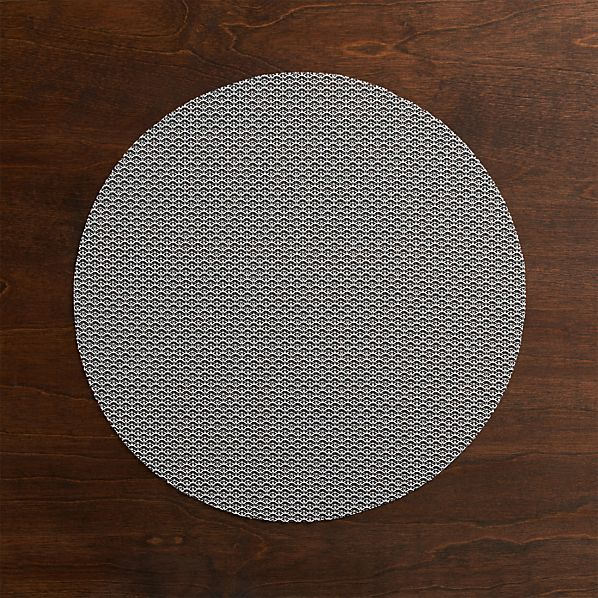 Chilewich® Knitty Grey Placemat