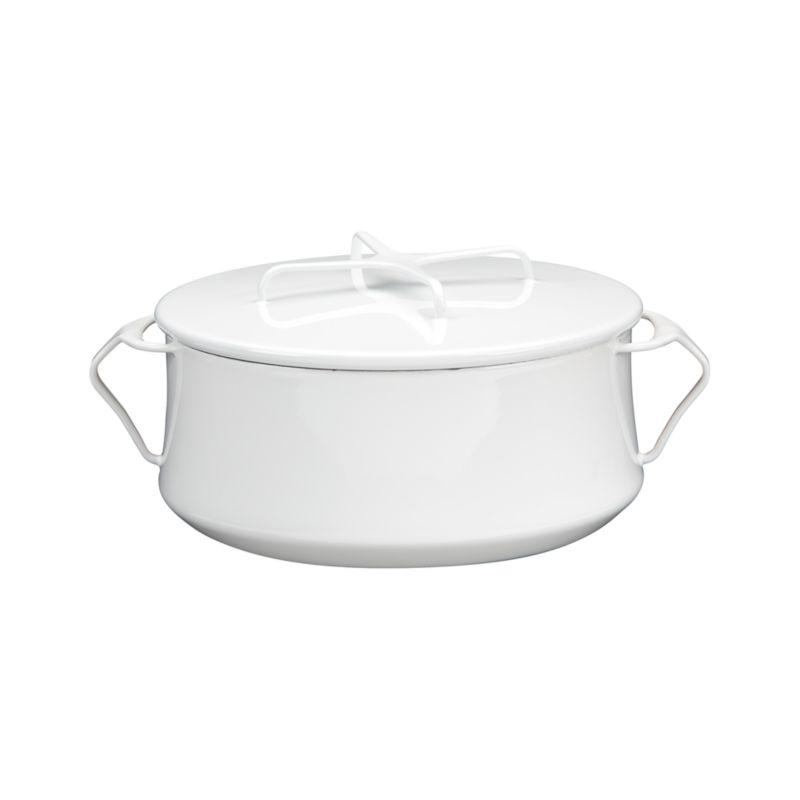 Dansk® Kobenstyle White 4-Quart Casserole